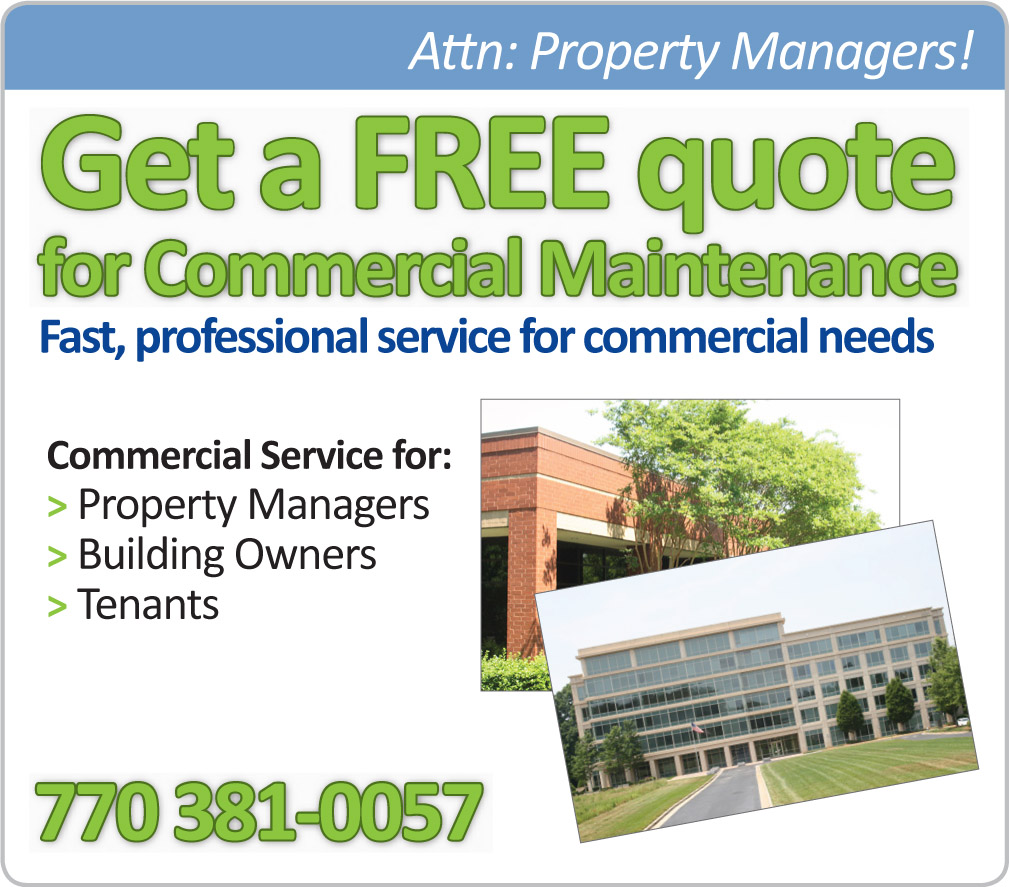 Get a Free Quote for Commercial Maintenance