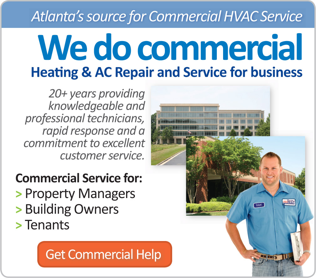 Atlata's source for Commercial HVAC Service