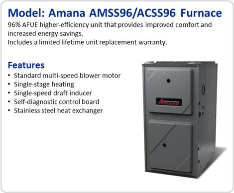 Atlanta Air Conditioning Heating Amana Gas Furnaces